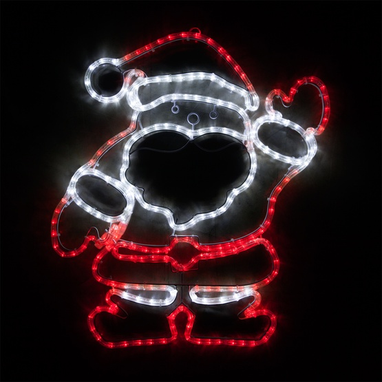 Outdoor decoration 28 led waving santa red and white lights 28 led waving santa red and white lights aloadofball Images