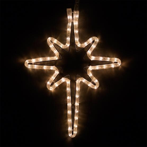 Outdoor decoration 18 led bethlehem star warm white lights 18 led bethlehem star warm white lights aloadofball Choice Image