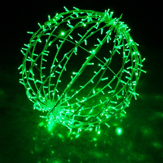 Green Led Commercial Mega Sphere Christmas Light Ball