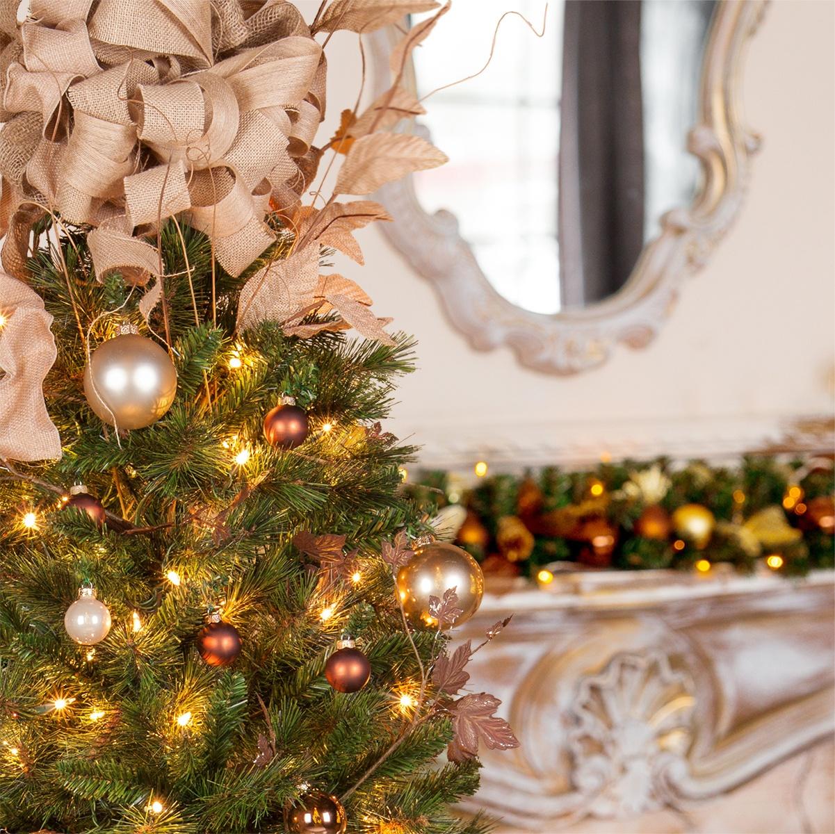 brighton fir prelit tree - Prelit Christmas Trees