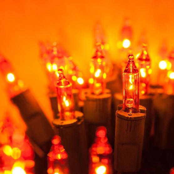 Christmas Lights 50 Purelock Tm Amber Orange Christmas