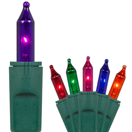 Christmas Lights 50 Purelock Tm Multi Color Mini