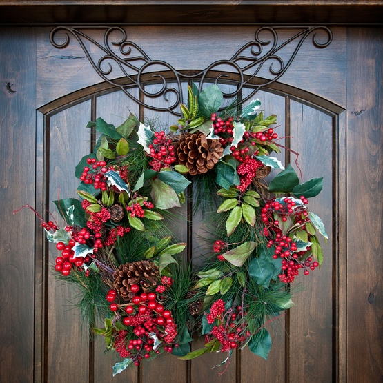 Metal Christmas Wreath