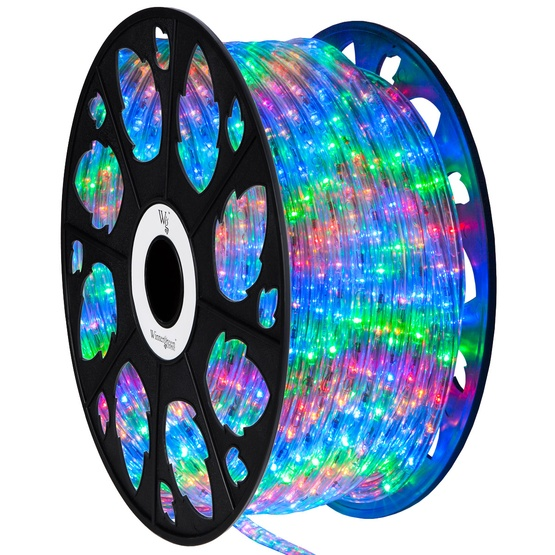 Led Rope Lights 150 Multicolor Led Rope Light Commercial Spool