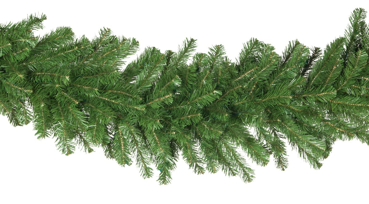 Artificial Christmas Garland - Olympia Pine Commercial Unlit ...