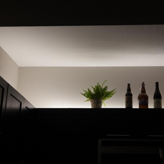 Basic 12v Led Strip Light Kit Pure White
