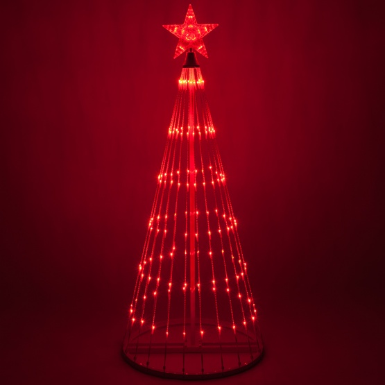 red led animated outdoor lightshow tree - Animated Outdoor Christmas Decorations