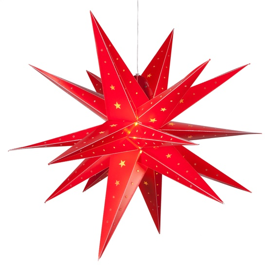 Outdoor Moravian Star Light Snowflakes stars 30 led fold flat red moravian star light 30 led fold flat red moravian star light outdoor rated workwithnaturefo