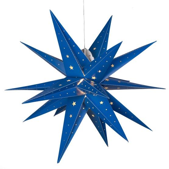 Outdoor Moravian Star Light Snowflakes stars 24 led fold flat blue moravian star light 24 led fold flat blue moravian star light outdoor rated workwithnaturefo