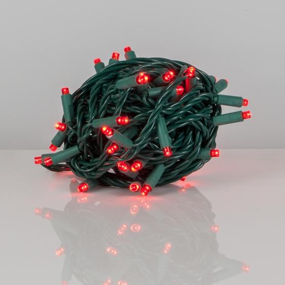 Wide Angle 5mm Led Lights 50 Red Outdoor Christmas Tree Mini