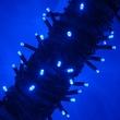 50 Blue Outdoor LED Christmas Tree Lights, Mini 5MM
