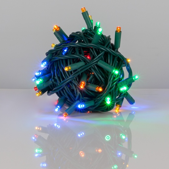 Wide Angle 5mm Led Lights 50 Multicolor Outdoor Christmas Tree Mini
