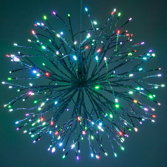 01a Silver Lighted Branch Multi Led Starburst 1505 Jpg W 555 H