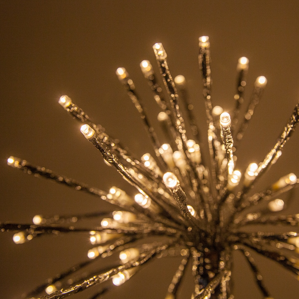 Starburst Lighted Branches with Warm White LED Lights, 3 pc