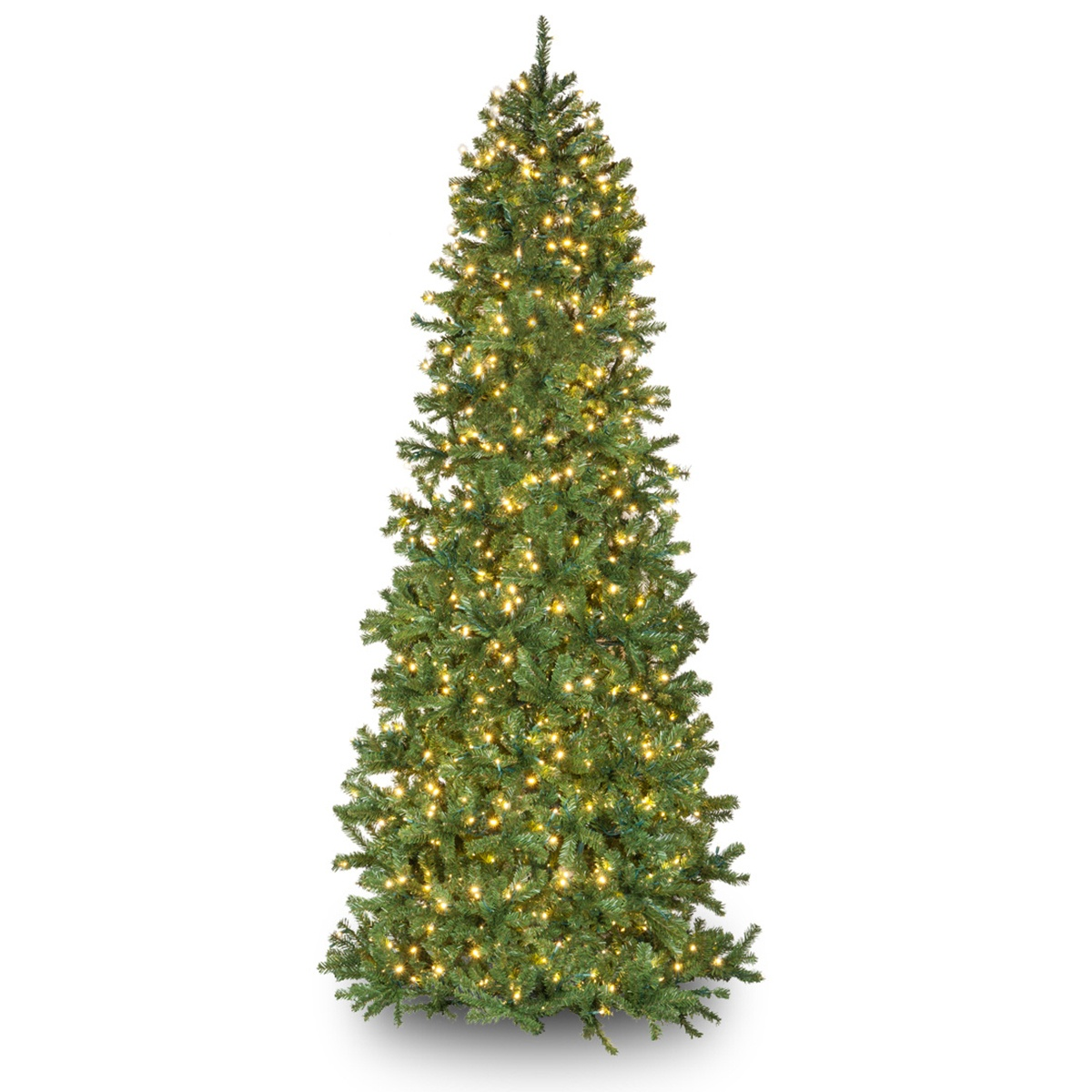 Douglas Fir Christmas Tree.Slender Douglas Fir Prelit Tree