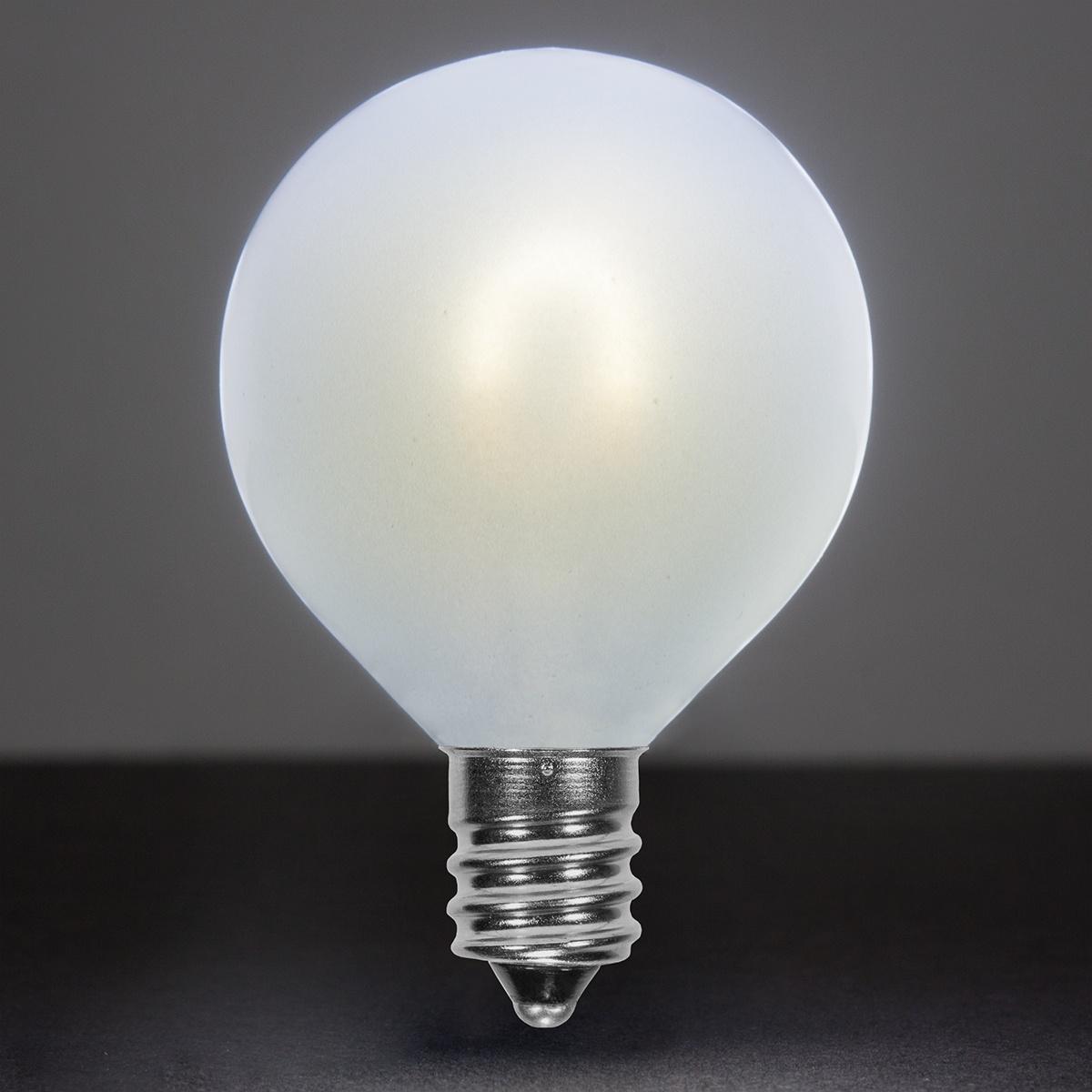 Led White Flexfilament G50 Glass Cool Tm BulbSatin Edison OZiwXTkPu