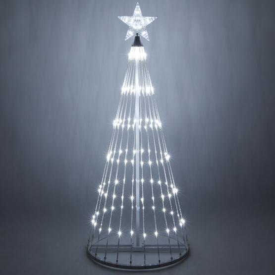 White Led Lightshow Tree