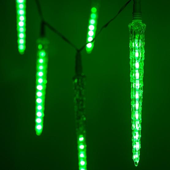Falling Icicle Christmas Lights