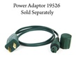 """Commercial 25 C7 Green LED Christmas Lights, 6"""" Spacing"""
