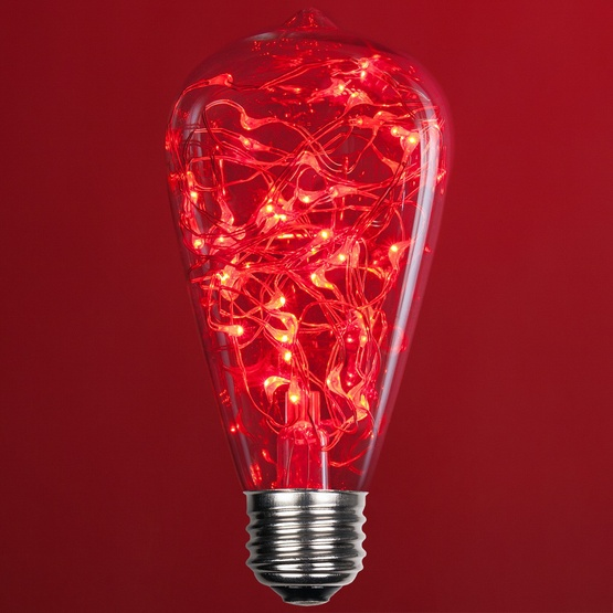 St64 Red Led Fairy Light Bulb 6184 Jpg W 555 H