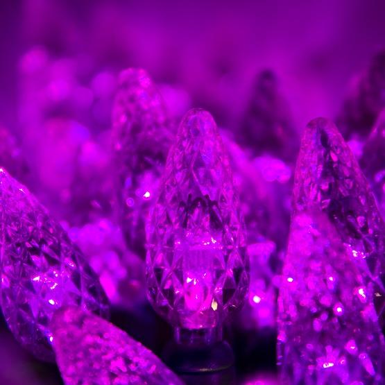 Led Christmas Lights 70 C6 Purple Led String Lights 4