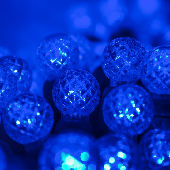 Led Christmas Lights 70 G12 Blue Led String Lights 4