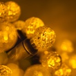 "70 G12 Gold LED String Lights, 4"" Spacing"