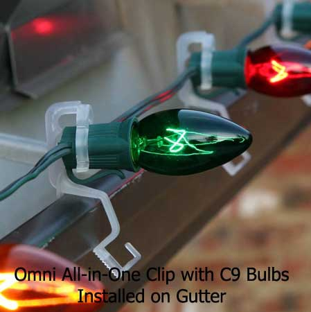 Christmas Light Gutter Clips