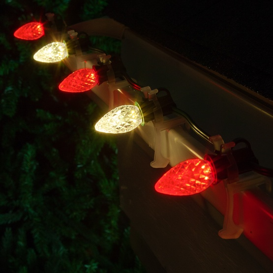 Christmas Lights - C7 Red / Warm White Opticore Commercial ...