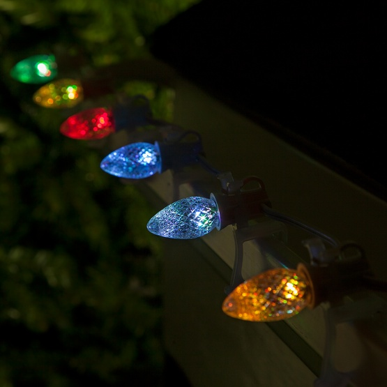 C7 Multicolor Color Change Commercial Led Christmas String Lights
