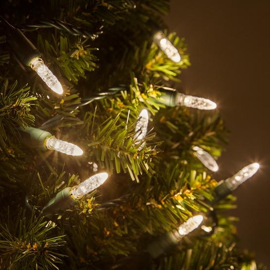 Led Christmas Lights White.70 M5 Warm White Led Christmas Lights 4 Spacing