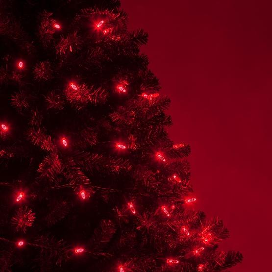 70 M5 Red Led Christmas Lights 4 Ing