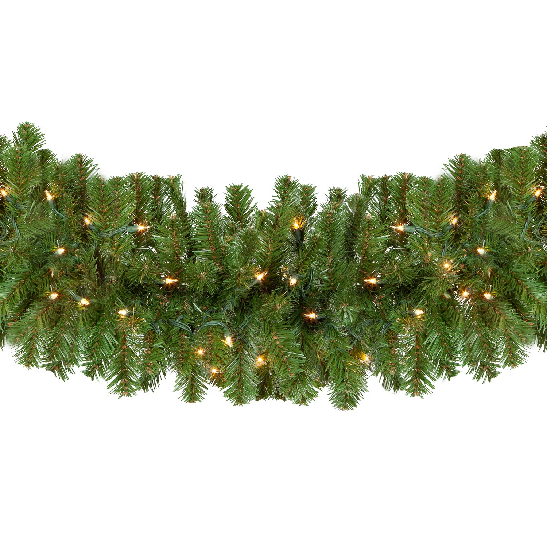 Lighted Christmas Garland Sequoia Fir