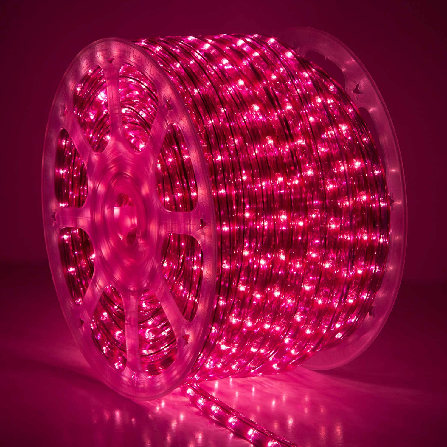 Purple Rope Light Commercial Spool