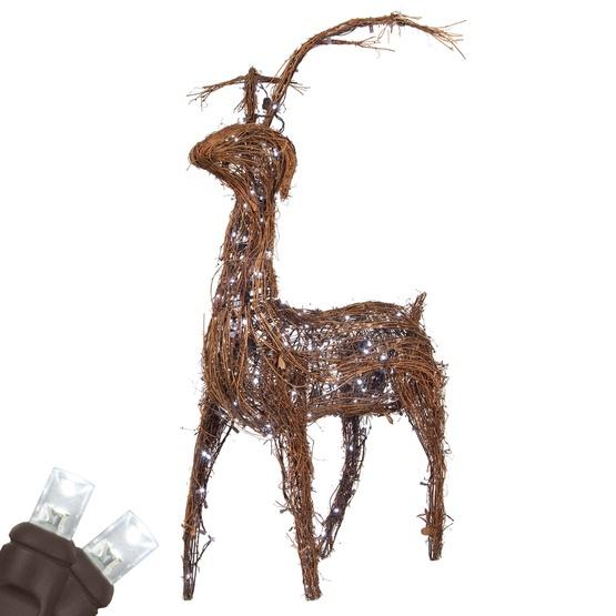 Grapevine Standing Reindeer